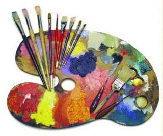 Palety a malířské pomůcky - Výtvarné potřeby Kreativ